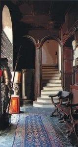 Compiano castello interno