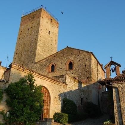 FORTUNAGO, castello Stefanago