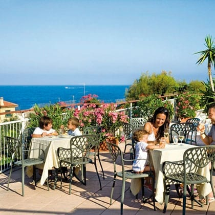 LAIGUEGLIA, hotel Mediterraneo