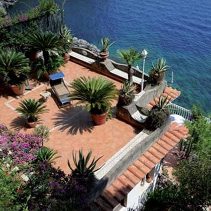 Conca dei Marini, Villa Azzurra casa vacanze