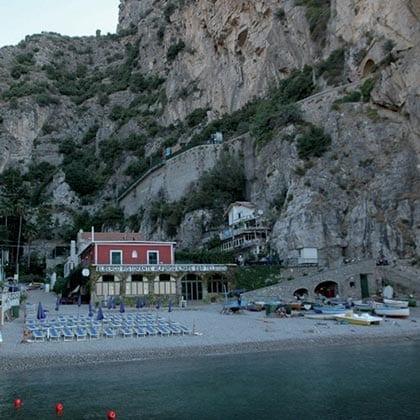 Furore, Hotel Ristorante Alfonso a Mare