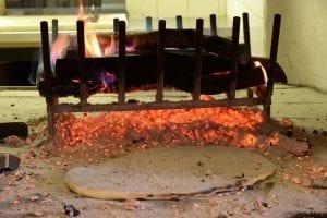 Pizza sotto il fuoco acquasparta