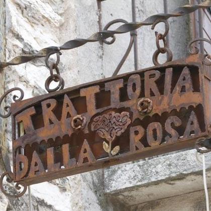 San Giorgio, Trattoria Dalla Rosa