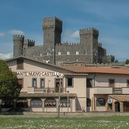 Torre Alfina, Nuovo Castello