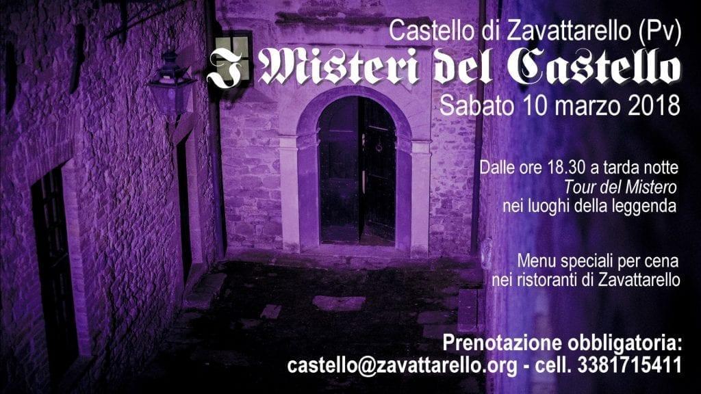 Zavattarello I Misteri del Castello 10 marzo 2018